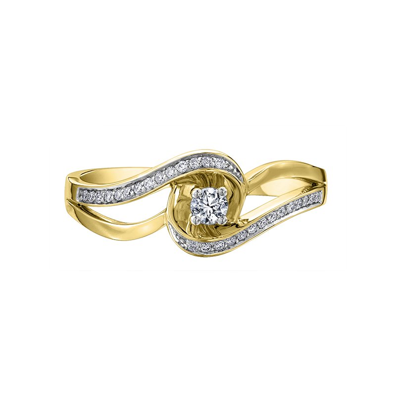 Lasting Treasures Diamond Ladies Engagement Ring