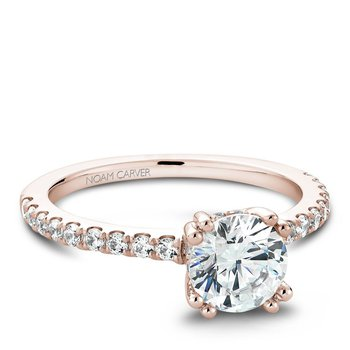 Noam Carver Modern Engagement Ring B004-01RA