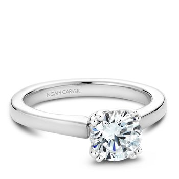 Noam Carver Modern Engagement Ring B001-02A