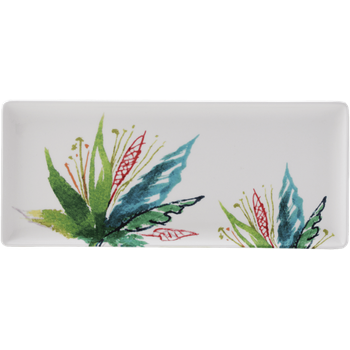 Vegetal Oblong Serving Tray
