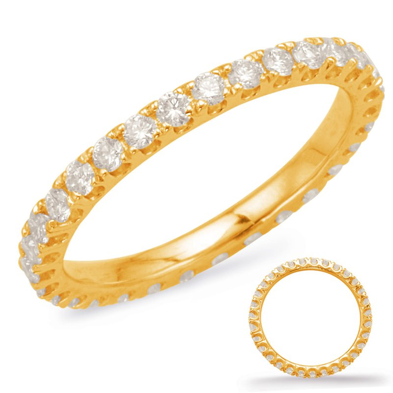 S. Kashi  & Sons Yellow Gold Eternity Band