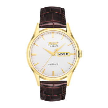 Visodate Men's Silver Automatic Heritage Dress Watch