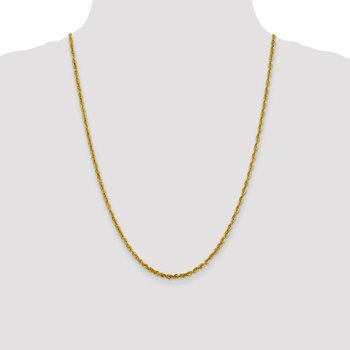 Leslie's 10K 3mm Diamond-Cut Lightweight Rope Chain