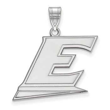 Sterling Silver Eastern Kentucky University NCAA Pendant