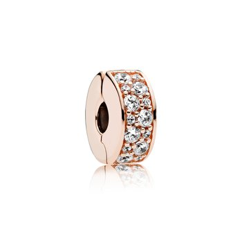 Shining Elegance, Pandora Rose™ Clear Cz