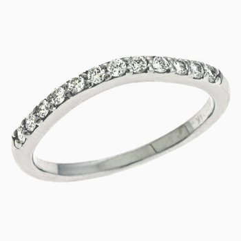 White Gold Engagement Band