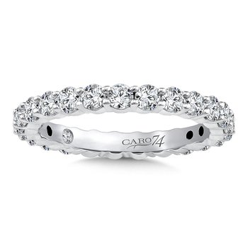 Eternity Band (Size 6.5) in 14K White Gold (1.29ct. tw.)