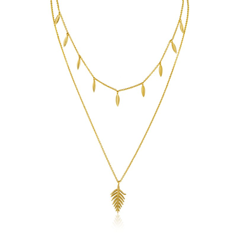 Ania Haie Tropic Double Necklace