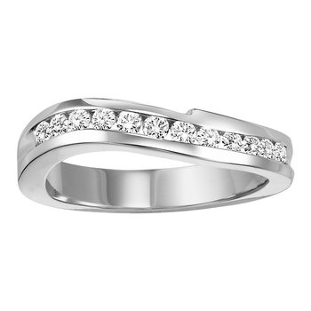 14K Diamond Matching Band 1/3 ctw