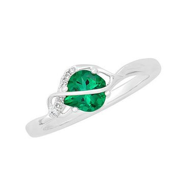 Emerald Ring-CR11753WEM