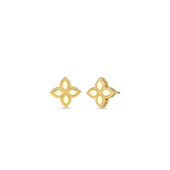18KT GOLD SMALL STUD EARRINGS