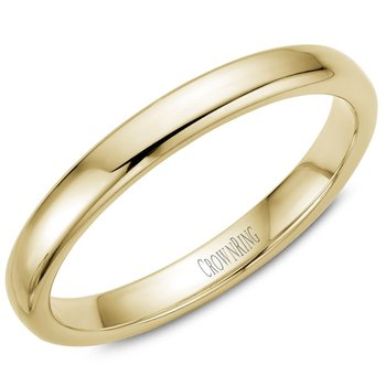 CrownRing Men's Wedding Band TDS14Y3