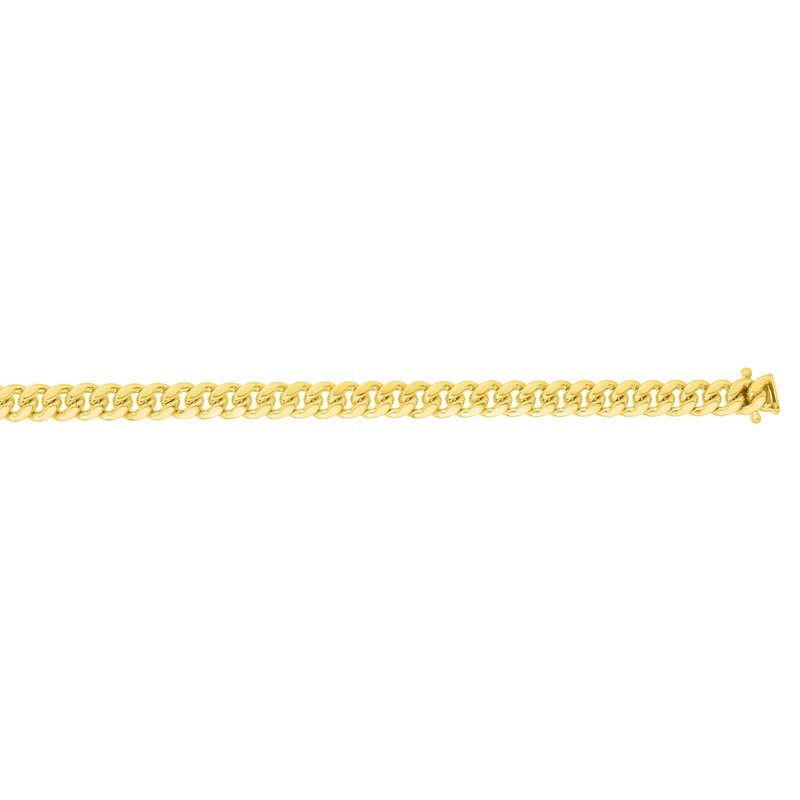Royal Chain 14K Gold 4mm Classic Miami Cuban