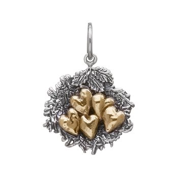 Bundled By Love Nest Charm - 5 Heart