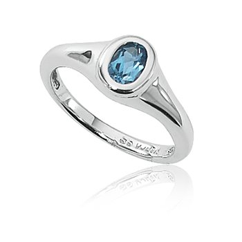 Topaz in Sterling Silver