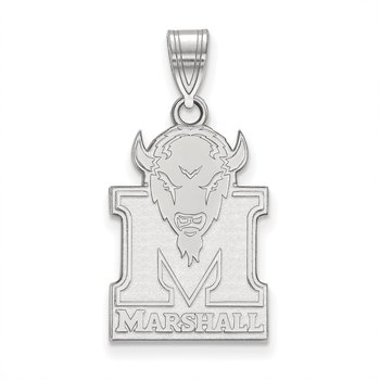 Sterling Silver Marshall University NCAA Pendant