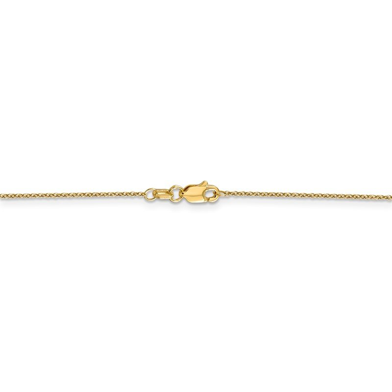 Quality Gold 14k .9mm Cable with Lobster Clasp Chain