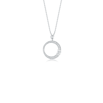 Cento Medium Pave Signature Pendant