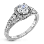 Zeghani ZR1475 ENGAGEMENT RING