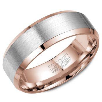 CrownRing Men's Wedding Band WB-7131WR