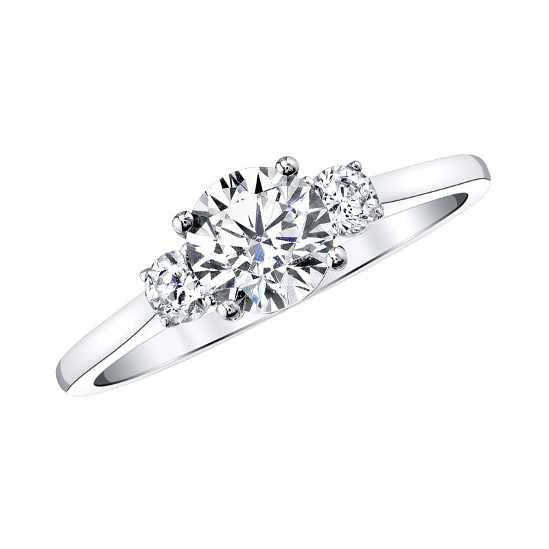 Three-Stone Engagement Ring by Love Story