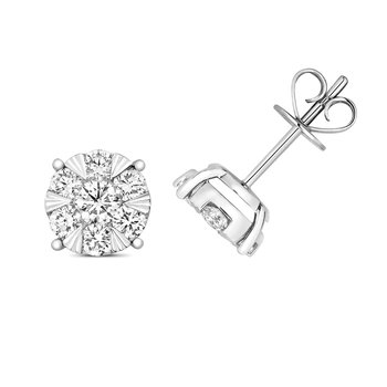 Diamond Brilliant Earrings