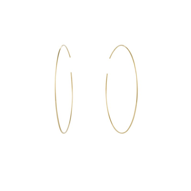 Aurelie Gi DONNA | Large Seamless Hoops