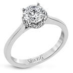 Simon G MR2945 ENGAGEMENT RING