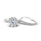 Simon G MR2573 ENGAGEMENT RING