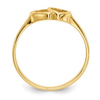 14k Children's Heart Ring