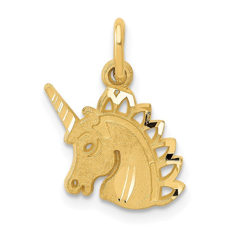 Quality Gold 14k Unicorn Charm