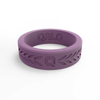 Women's Laurel Lilac Silicone Ring