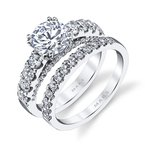 MARS Jewelry MARS 26253 Diamond Engagement Ring  1.15 Ctw.
