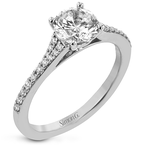 Simon G LR2507-RD ENGAGEMENT RING