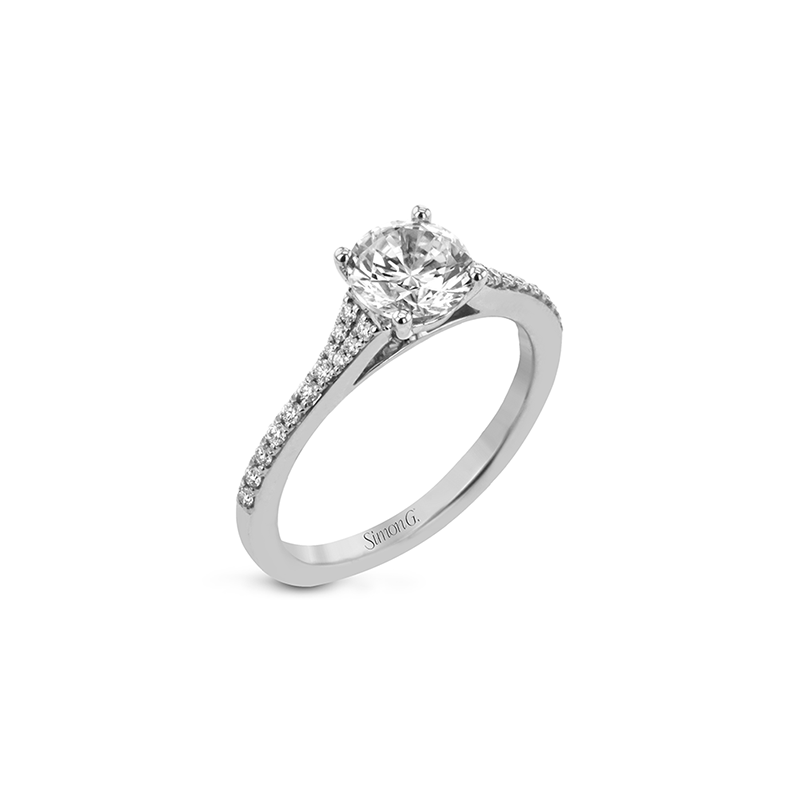 LR2507-RD ENGAGEMENT RING
