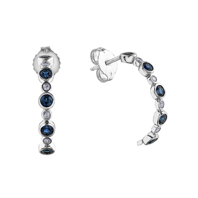 Lasting Treasures™ Sapphire Earrings
