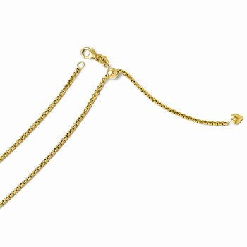 Leslie 14K 2 mm Semi Solid Box Chain