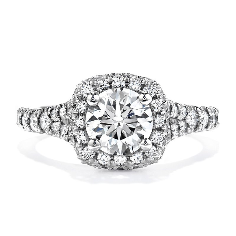 Hearts on Fire 1 ctw. Acclaim Engagement Ring