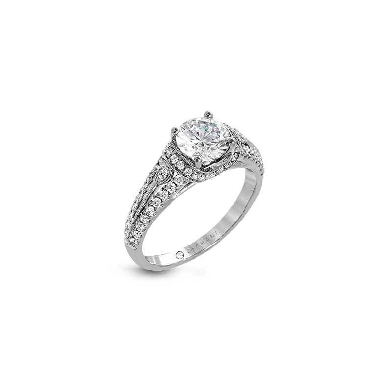 Zeghani ZR1241 ENGAGEMENT RING