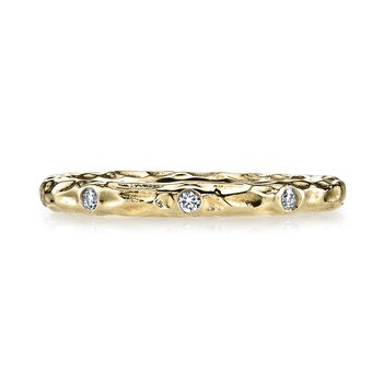 MARS 25682YG Diamond Wedding Band 0.17 ctw