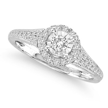14K  0.34Ct  Diamond  Ring