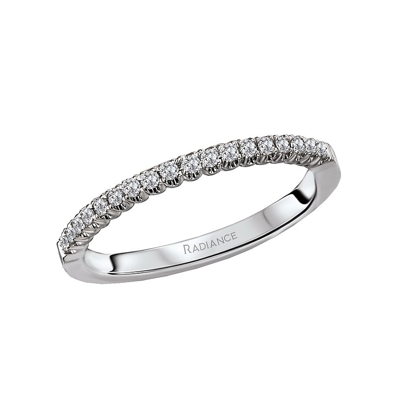 Radiance Matching Wedding Band