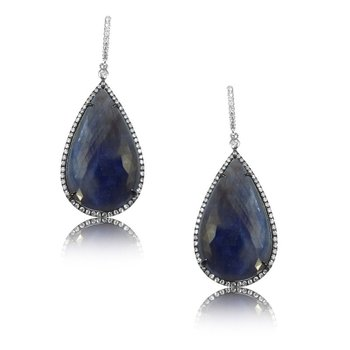 Sapphire Fashion Earrings