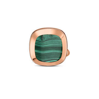 18Kt Gold Ring With Malachite