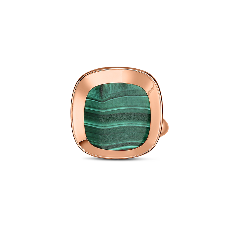 Roberto Coin 18Kt Gold Ring With Malachite