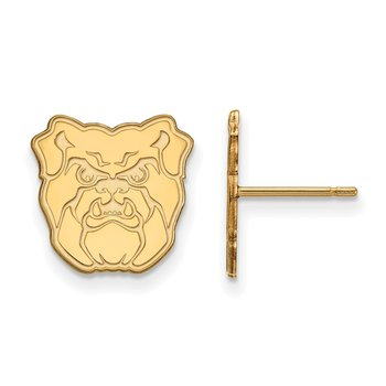 Gold Butler University NCAA Earrings