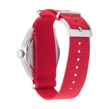 Ohio State Buckeyes Men's Solid NATO Strap Watch