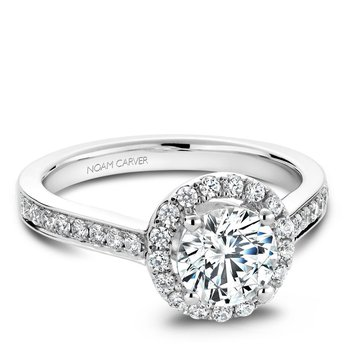 Noam Carver Vintage Engagement Ring B005-01A