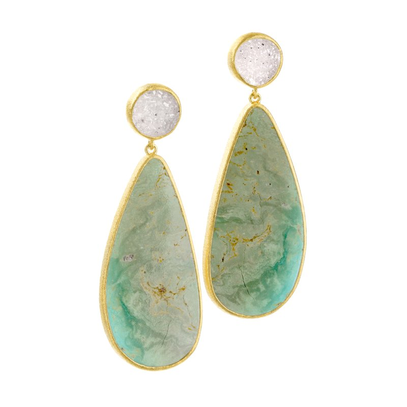 Nina Nguyen Wisdom Gold Earrings