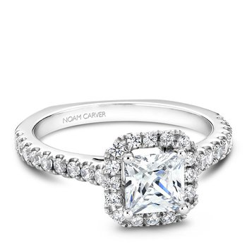 Noam Carver Fancy Engagement Ring B034-02A